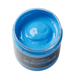 Speedball Fluorescent Screen Printing Ink Blue 8oz