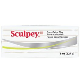 Sculpey Sculpey III 8Oz White