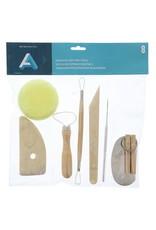 Art Alternatives Pottery Tool Kit 8 Piece