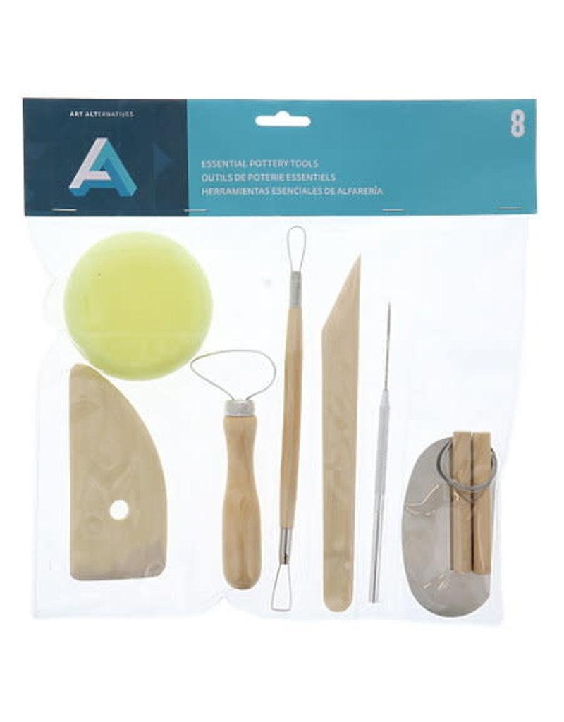 Art Alternatives Pottery Tool Kit 8 Pc