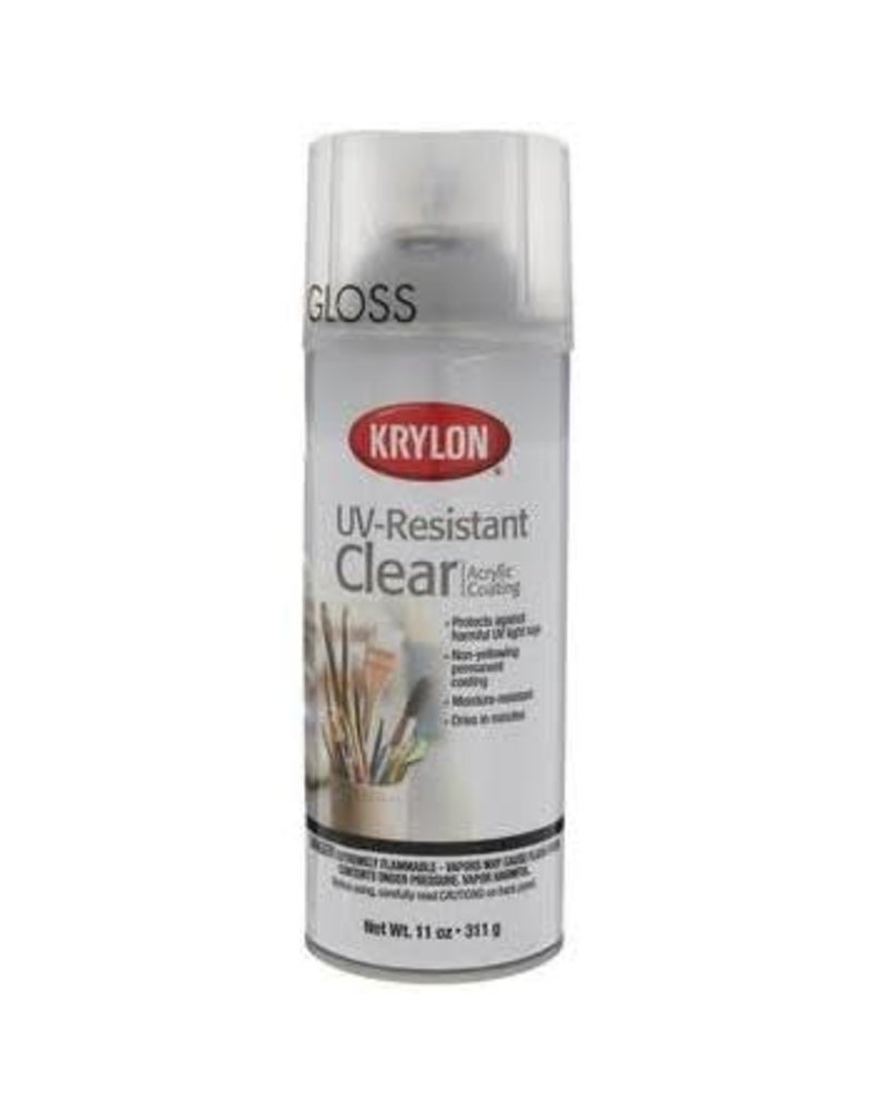 Krylon Krylon Artist & Clear Coatings Uv-Resistant Clear Gloss