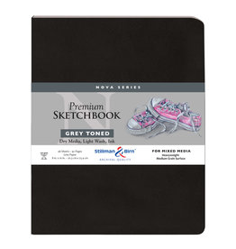 Stillman & Birn Nova Softcover 8X10 Grey 46Sh