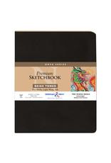 Stillman & Birn Nova Softcover 3.5X5.5 Beige 46Sh