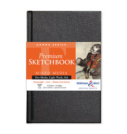Stillman & Birn Gamma Hardbound Sketch 5.5X8.5 Ivr 62Sh
