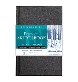 Stillman & Birn Epsilon Hardbound Sketch 5.5X8.5 Wh 62Sh