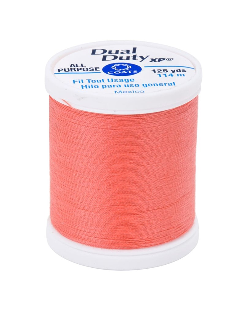 Coats & Clark General Purpose Thread 125Yd Bright Coral