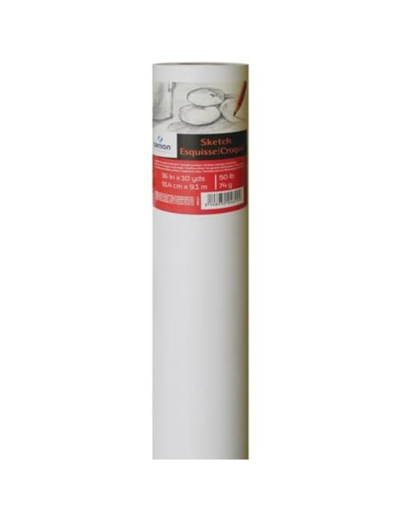 Canson Foundation Sketch Rolls, 36'' X 10 Yds. - 50 Lb. (74Gsm) Roll