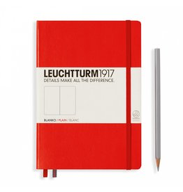 Leuchtturm Leuchtturm Red, Medium, Plain