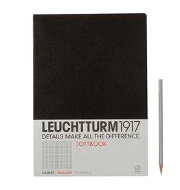 Leuchtturm Leuchtturm Black, Jottbook A4, Squared