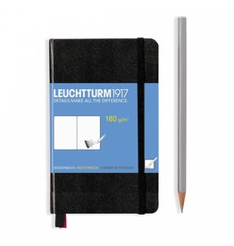 Leuchtturm Leuchtturm Black, Sketchbook Pocket (A6)