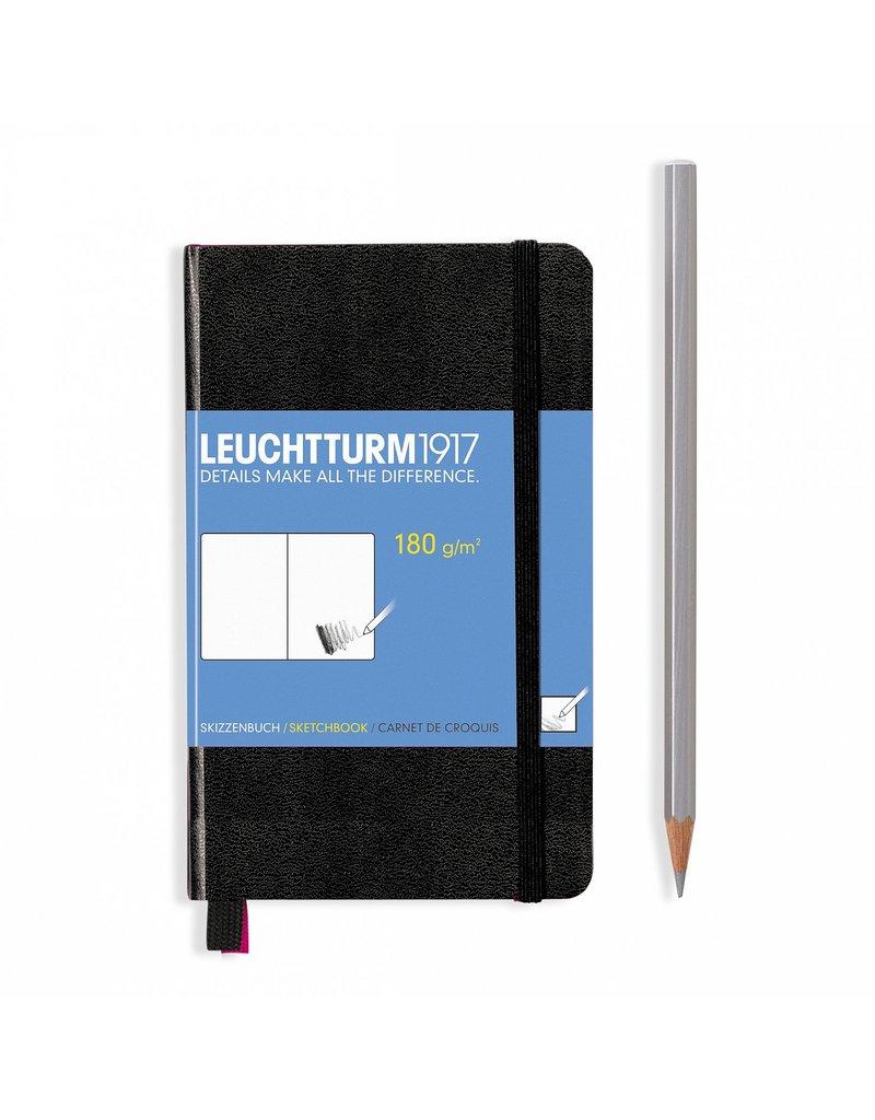 Leuchtturm Leuchtturm Black, Sketchbook Pocket (A6)