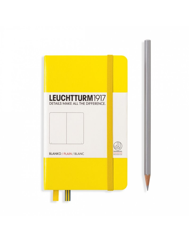 Leuchtturm Leuchtturm Lemon, Pocket, Plain