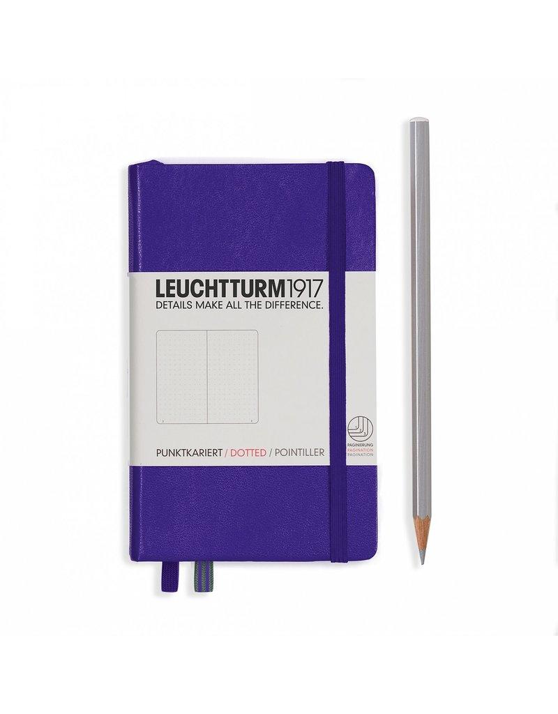 Leuchtturm Leuchtturm Purple, Pocket, Dotted