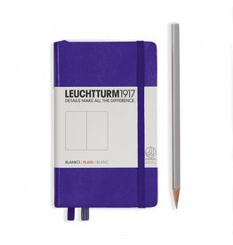 Leuchtturm Leuchtturm Purple, Pocket, Plain