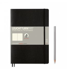 Leuchtturm Leuchtturm Black, Softcover, Composition (B5), Dotted