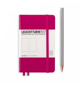Leuchtturm Leuchtturm Berry, Softcover, Pocket (A6), Plain
