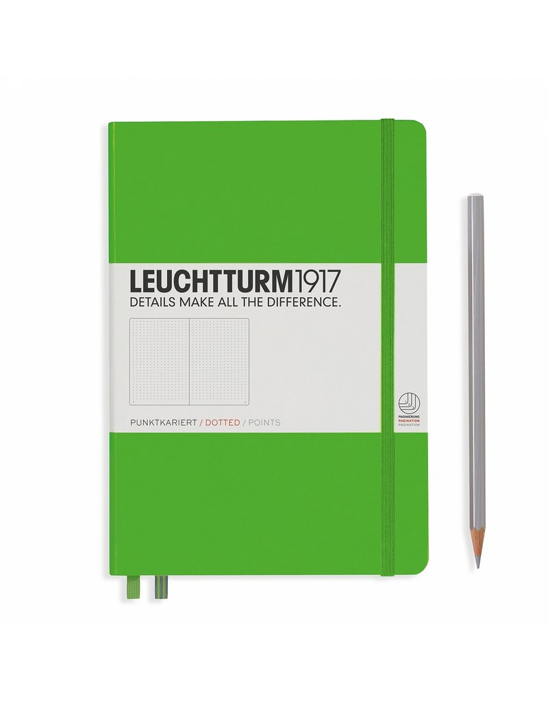 Leuchtturm Leuchtturm Fresh Green, Medium, Dotted