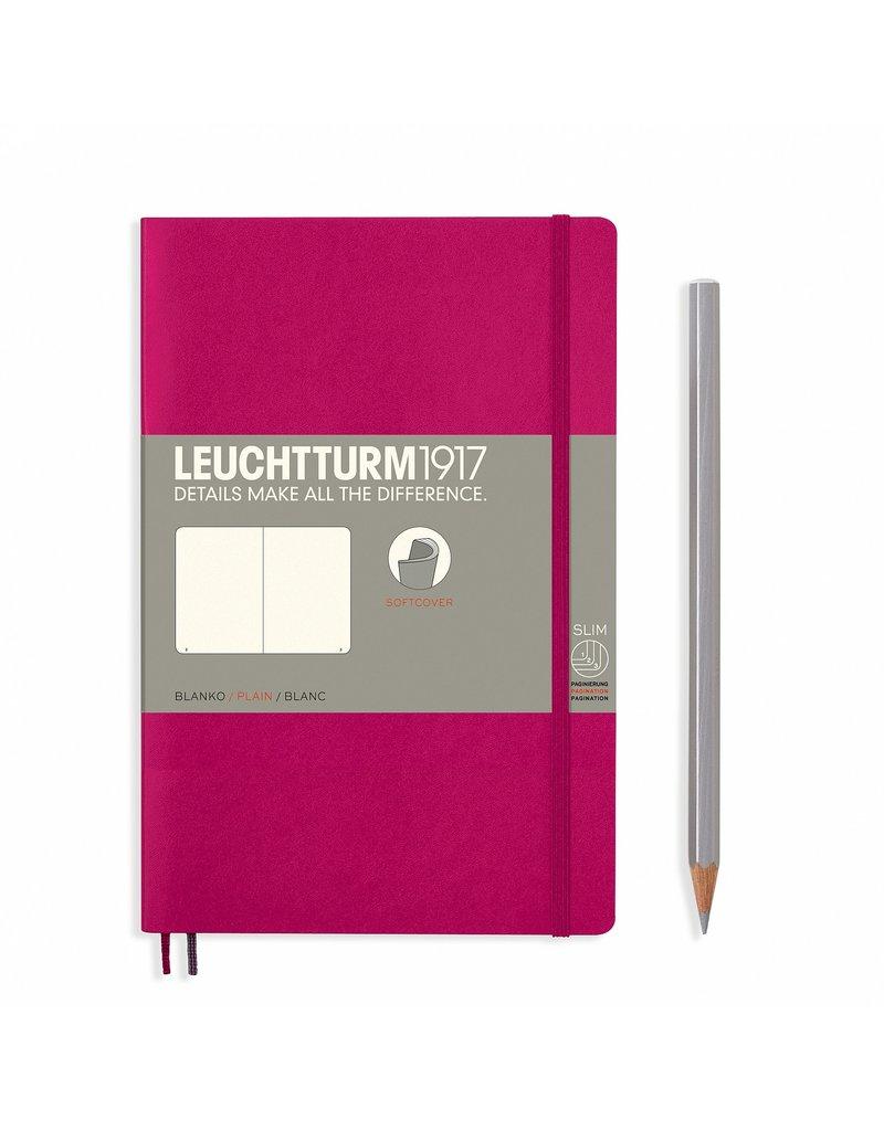 Leuchtturm Leuchtturm Berry, Softcover, Paperback (B6+), Plain