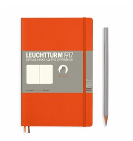 Leuchtturm Leuchtturm Orange, Softcover, Paperback (B6+), Plain