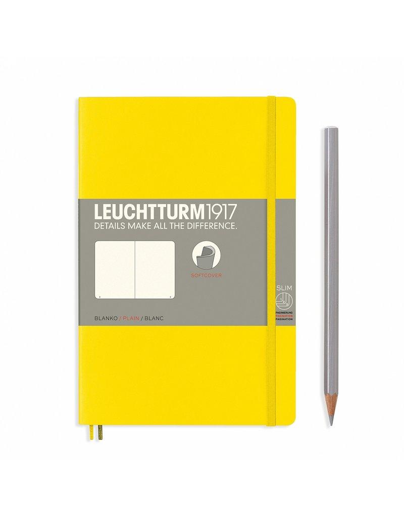 Leuchtturm Leuchtturm Lemon, Softcover, Paperback (B6+), Plain