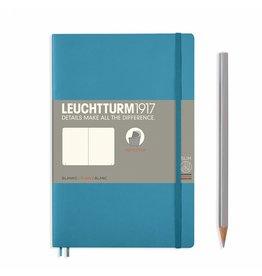 Leuchtturm Leuchtturm Nordic Blue, Softcover, Paperback (B6+), Plain