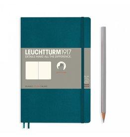 Leuchtturm Leuchtturm Pacific Green, Softcover, Paperback (B6+), Plain