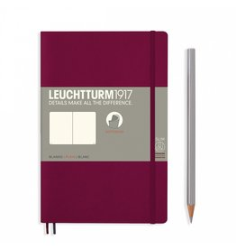 Leuchtturm Leuchtturm Port Red, Softcover, Paperback (B6+), Plain