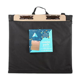 Art Alternatives On-The-Go Portfolio + Tote Board Combo, 23''W X 26''H Artist Tote Board Inside 27''W X 26-1/2''H Portfolio