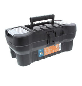 Art Alternatives Tool Box Heavy Duty Black 20In
