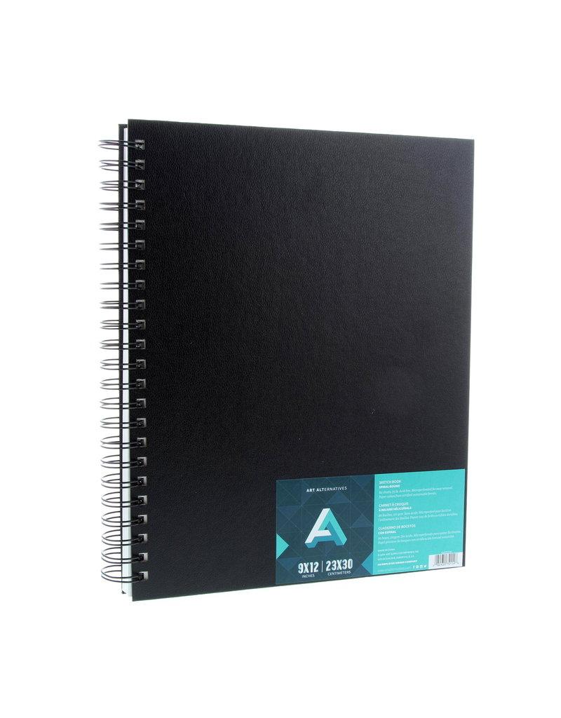 Art Alternatives Sketchbook Wire Perf 9X12