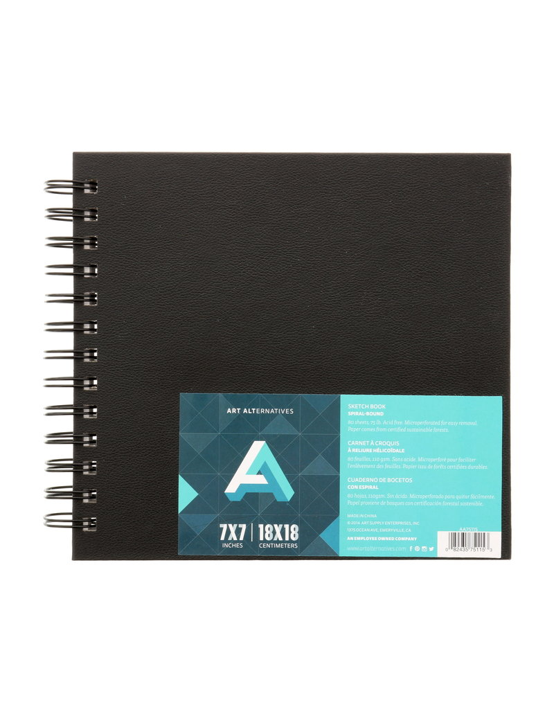 Art Alternatives Sketchbook Wire Perf 7X7