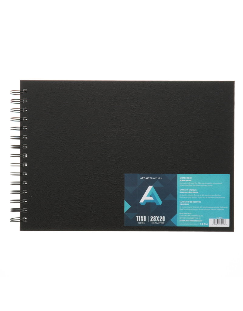 Art Alternatives Sketchbook Wire Perf 11X8