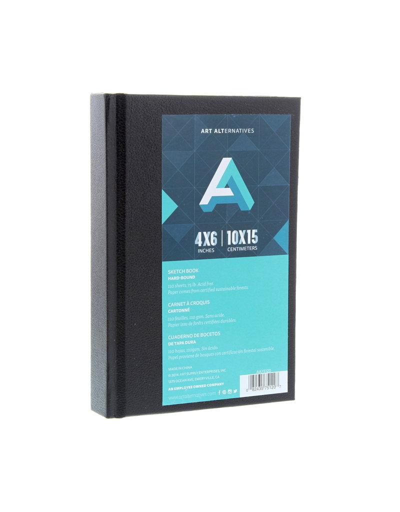 Art Alternatives Sketchbk Hard Bnd 4X6