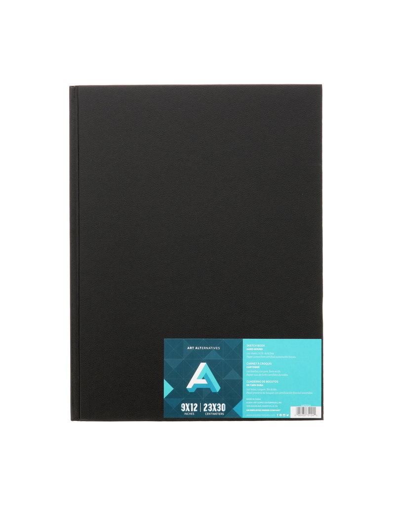 Art Alternatives Sketchbook Hard Bnd 9X12