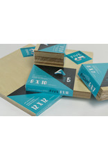 Art Alternatives Wood Panel Super Value Packs Uncradled, 4'' X 4'' 10/Pkg.