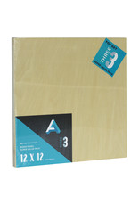 Art Alternatives Wood Panel Super Value Packs Uncradled, 12'' X 12'' 3/Pkg