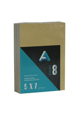 Art Alternatives Wood Panel Super Value Packs Uncradled, 5'' X 7'' 8/Pkg.