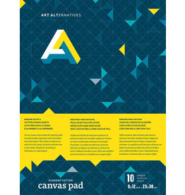 Art Alternatives Canvas Pad  9X12