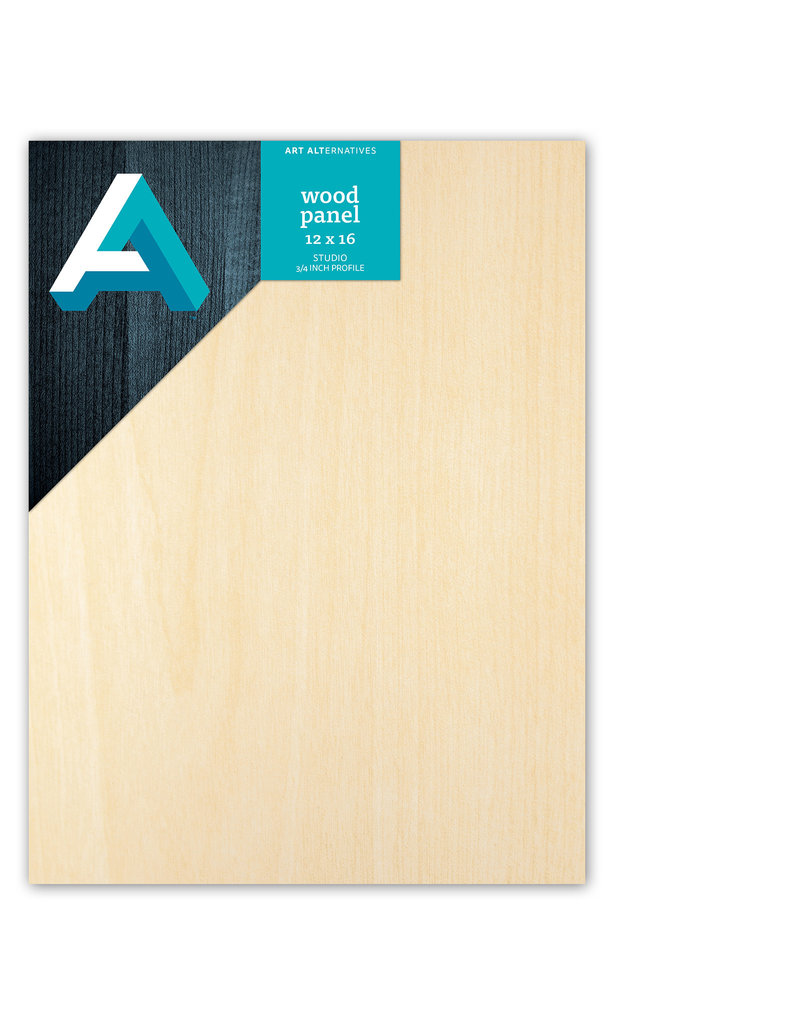 Art Alternatives Wood Panel Studio 12X16