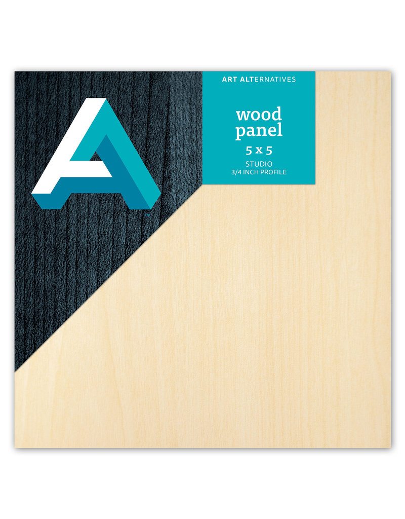 Art Alternatives Wood Panel Studio 5X5