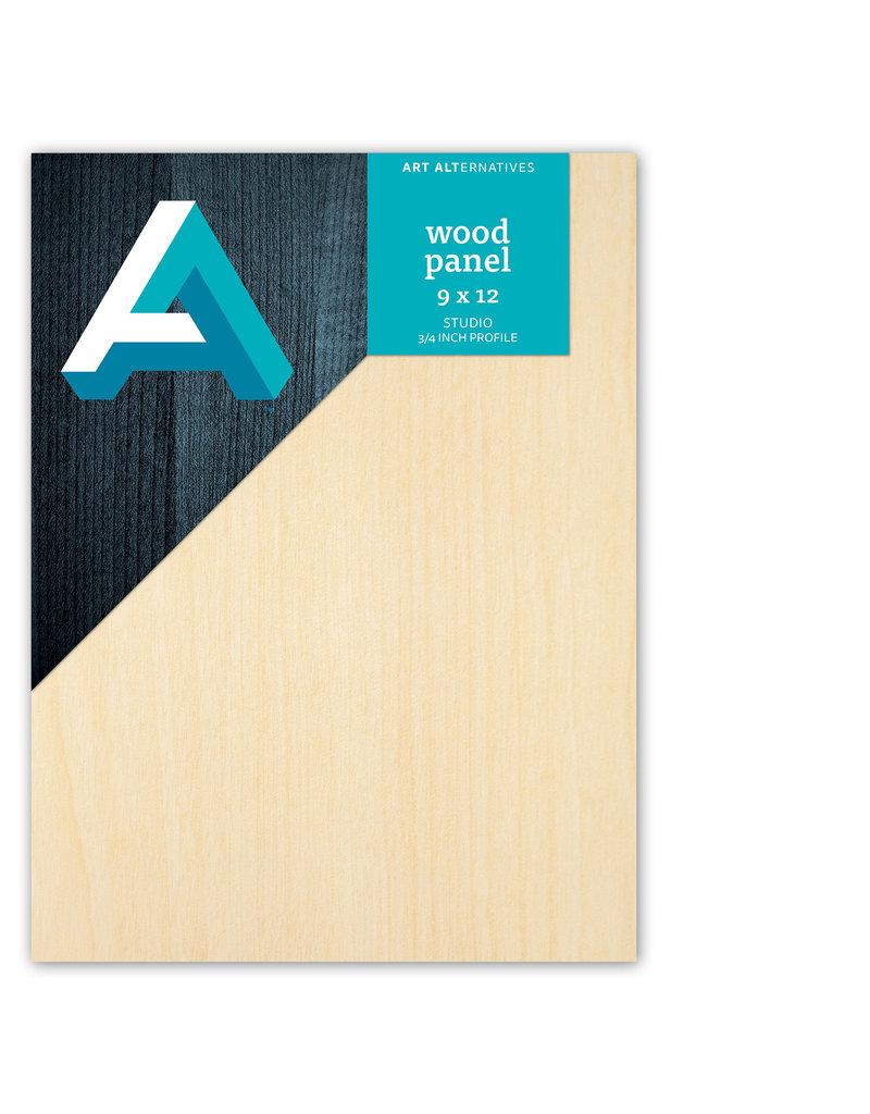 Art Alternatives Wood Panel Studio 9X12