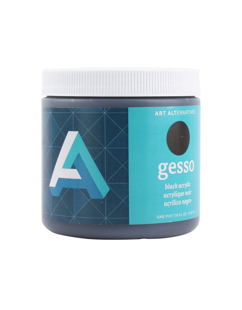 Art Alternatives Gesso Black 16Oz