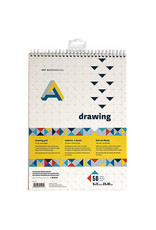 Art Alternatives Drawing Pad Spiral Bound 9X12