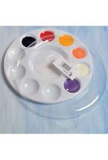 Art Alternatives Plastic Palette Lid, For 10 Well Round Palette