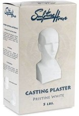 Sculpture House Pristine White Casting Plaster - 5Lbs