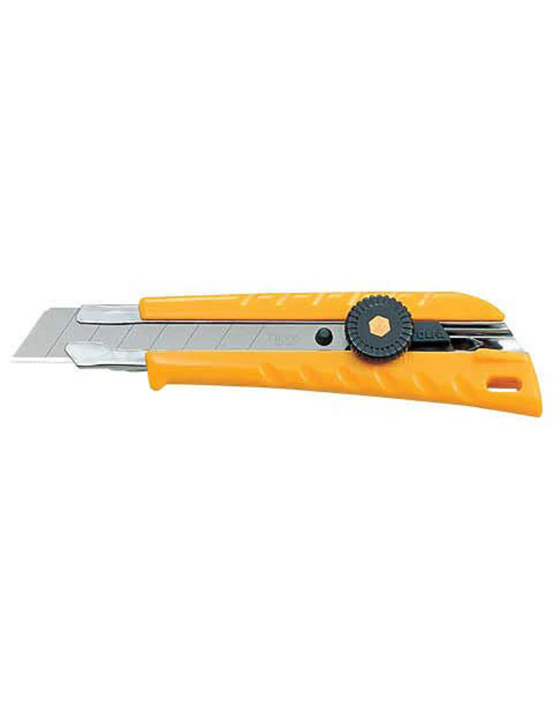Olfa Heavy-Duty Ratchet-Lock Utility Knife, L 1 Cutter