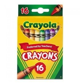 Crayola Crayola Crayons 16Ct Peg (6)