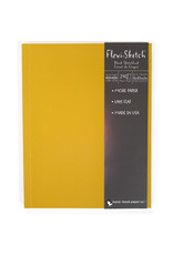 Global Flexi-Sketch Sketch Book 11'' X 8.5'' Butternut