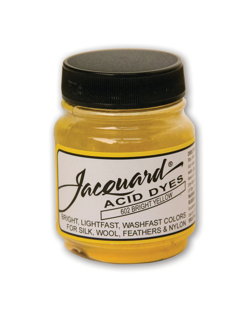 Jacquard Acid Dye .5 Oz Bright Yellow