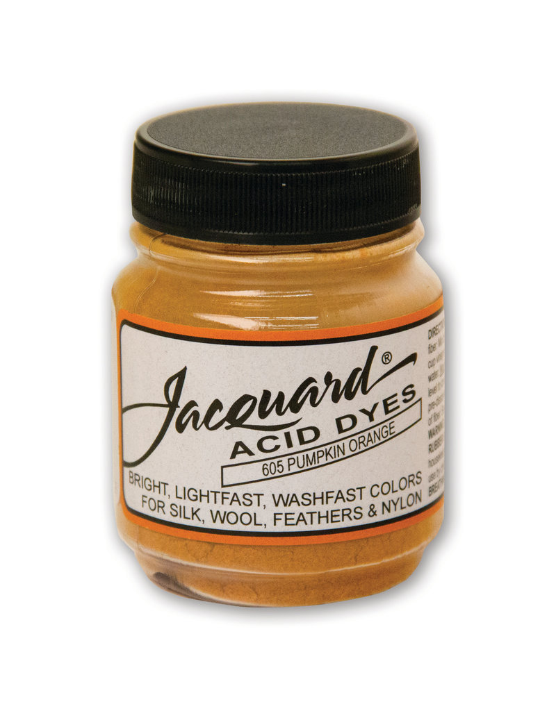 Jacquard Acid Dye.5 Oz Pumpkin Orange